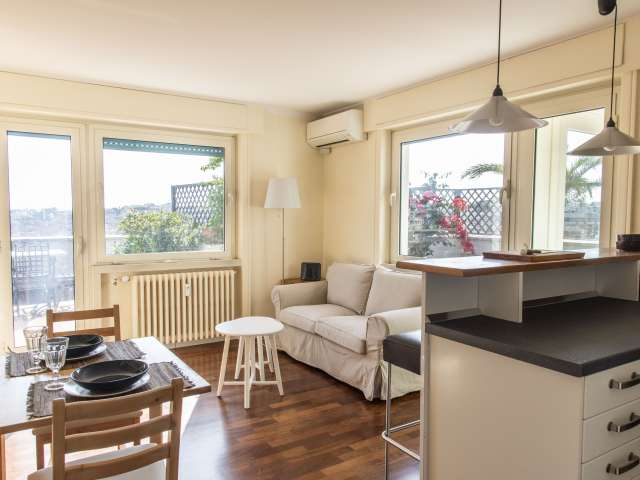 Elegante appartamento con 2 camere da letto in affitto a Balduina, Roma