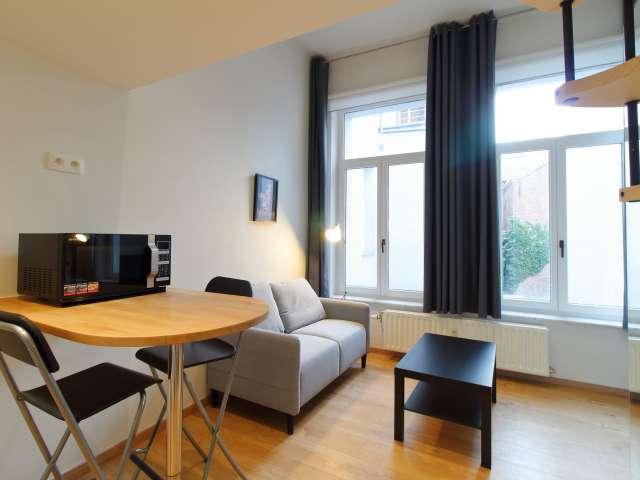 Studio chic à louer dans le centre-ville de Bruxelles