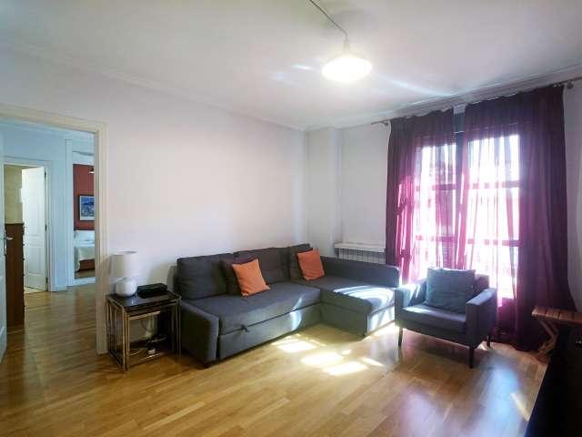 Helle 2-Zimmer-Wohnung zur Miete in Centro, Madrid