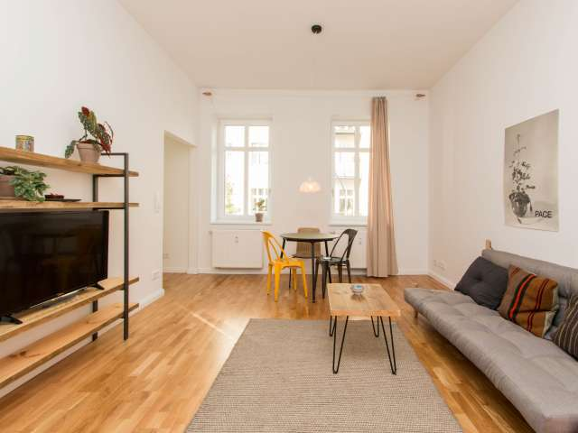 Trendy apartment with 1 bedroom for rent in Friedrichshain