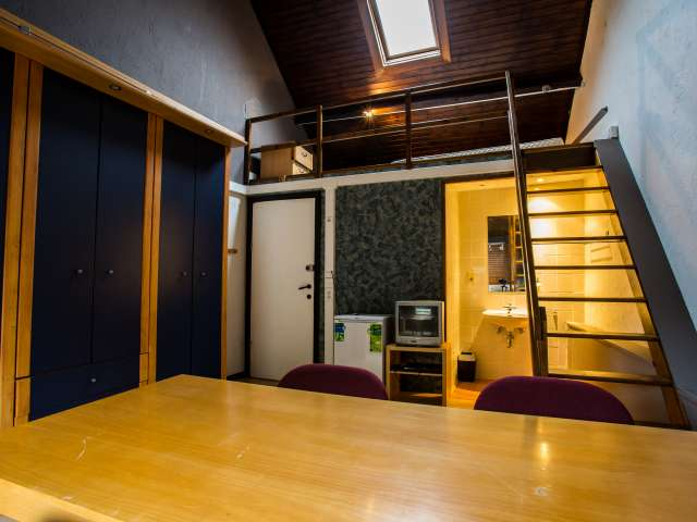 Ample room in apartment in Diegem, Brussels