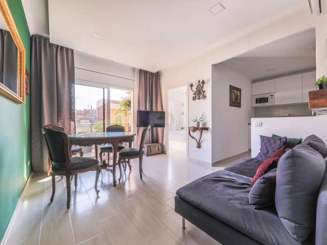 Chic 1-bedroom apartment for rent in l'Eixample Dreta