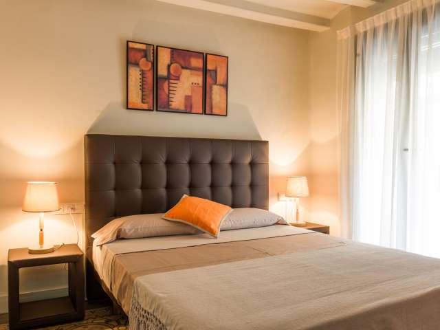 Stilvolle 1-Zimmer-Wohnung zur Miete in Sants, Barcelona