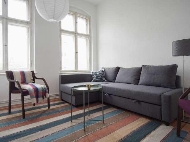 Sleek 2-bedroom apartment for rent in Pankow, Berlin