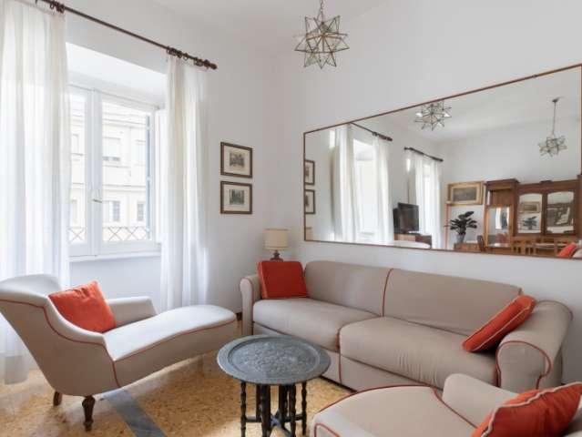 Spacieux appartement de 2 chambres à louer à Salario, Rome