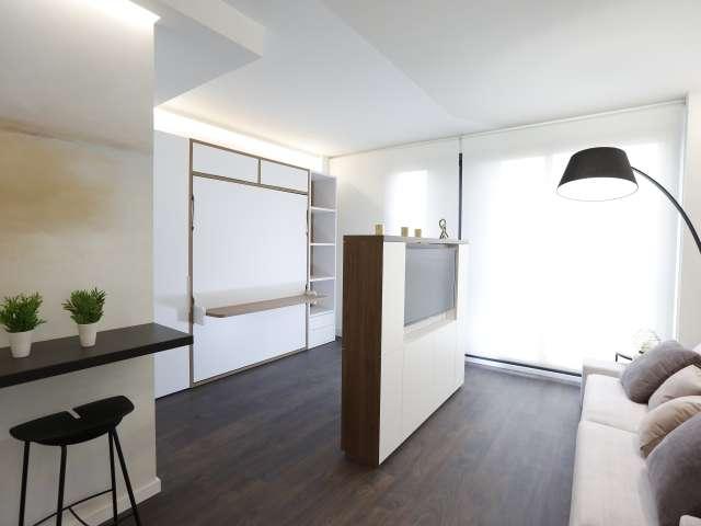 Chic Studio apartment for rent in L'Eixample, Valencia
