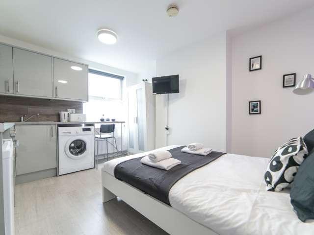 Stylish studio apartment to rent in Harlesden, London