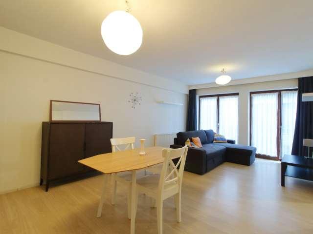 Appartement 1 chambre élégant à louer à Schaerbeek, Bruxelles