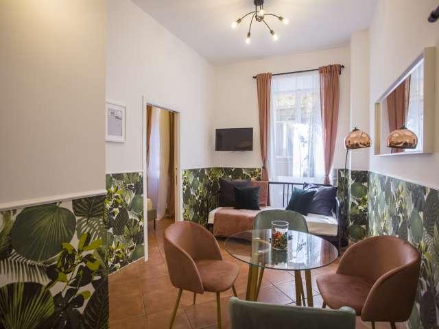 Grazioso appartamento con 1 camera da letto in affitto nel Centro Storico