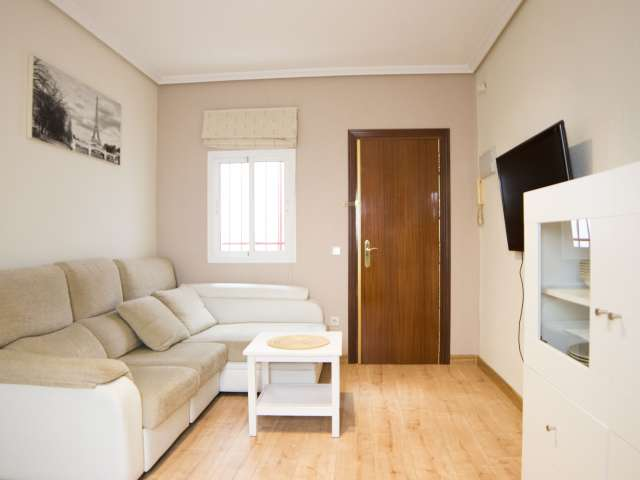 Schöne 2-Zimmer-Wohnung zu vermieten, Atocha, Madrid