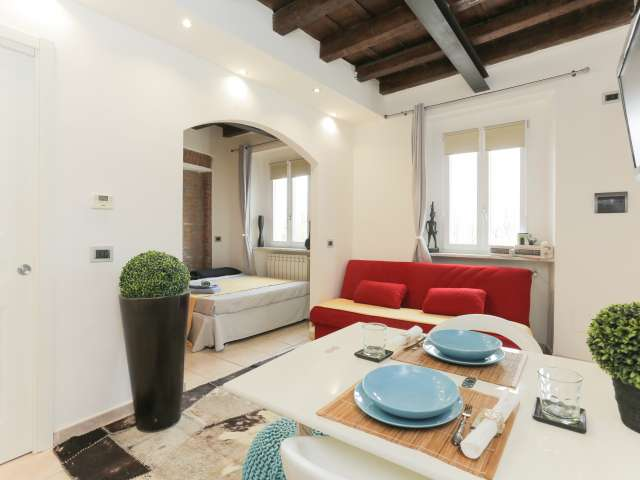 Charming studio apartment for rent, Cantalupa, Milan