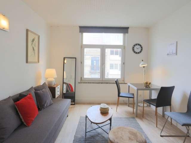 Studio apartment for rent in Saint-Gilles, Brussels