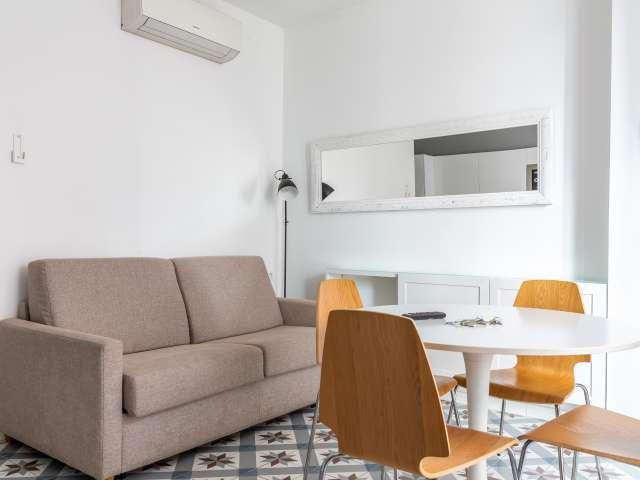 Stilvolle 1-Zimmer-Wohnung zur Miete in Eixample Dreta