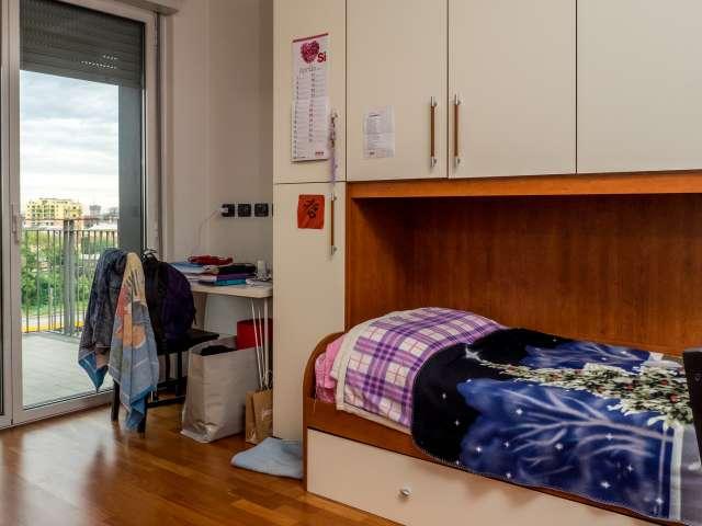 Einzelzimmer in der 3-Zimmer-Wohnung in Bicocca