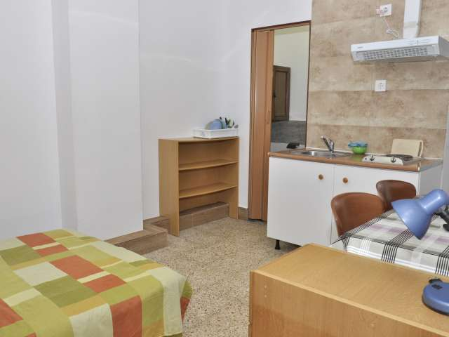 Studio apartment with AC for rent in Collblanc, Barcelona