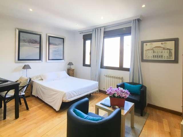 Modern studio for rent in Retiro, Madrid
