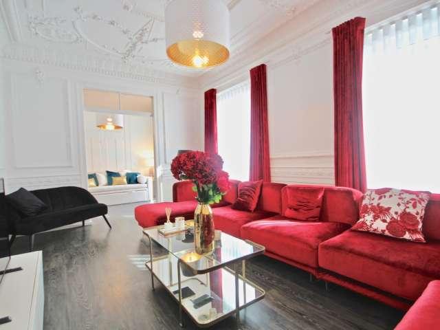 Apartamento de 3 quartos chique para alugar em Campolide, Lisboa