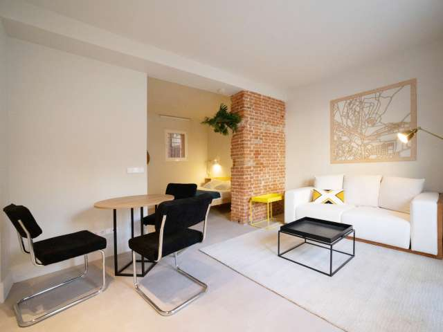 Renovated studio apartment for rent in San Blas, Madrid