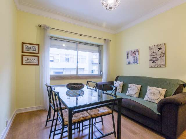 Trendy 2-bedroom apartment for rent in Ajuda, Lisbon