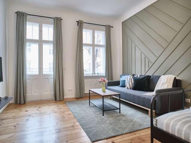 Stilvolles Studio-Apartment in Neukölln, Berlin