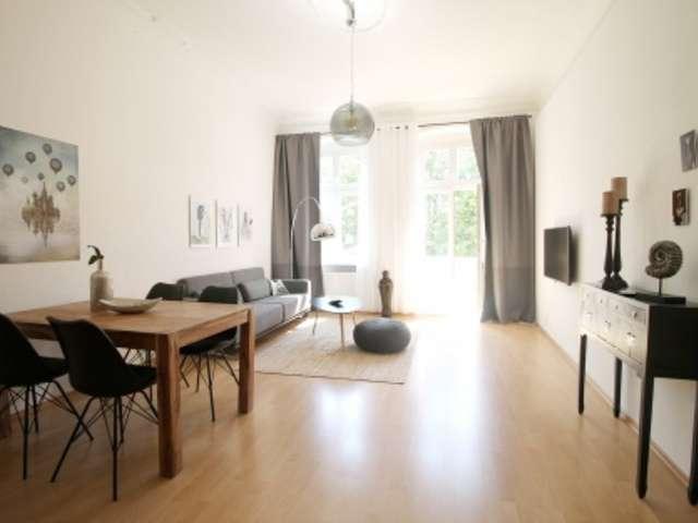 Hip Wohnung mit 1 Schlafzimmer in Friedrichshain zu vermieten