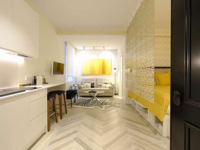 Elegant studio apartment for rent in Centro, Madrid