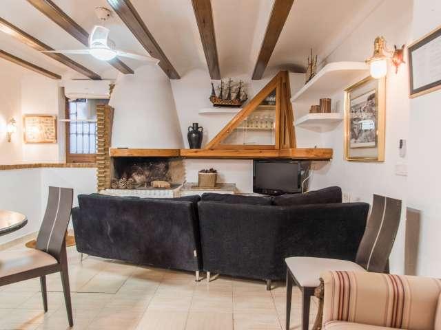 Se alquila habitación en piso de 4 dormitorios, Cabanyal, Valencia
