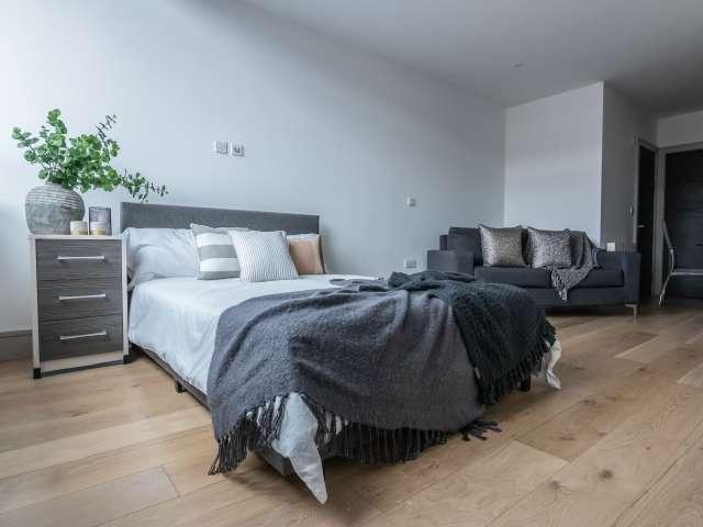 Chic studio flat to rent in Tottenham, London