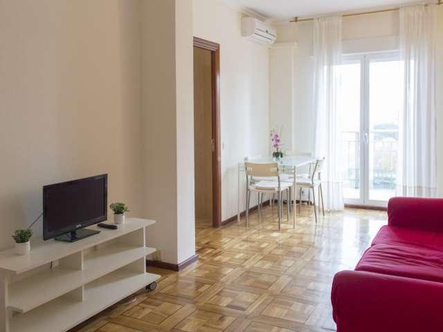 Sonnige 1-Zimmer-Wohnung zur Miete in Tetuán, Madrid