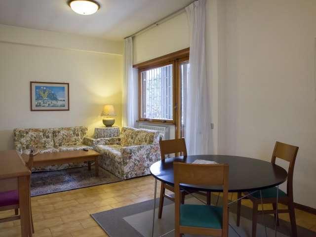 Piacevole appartamento con 2 camere da letto in affitto a Torrino, Roma