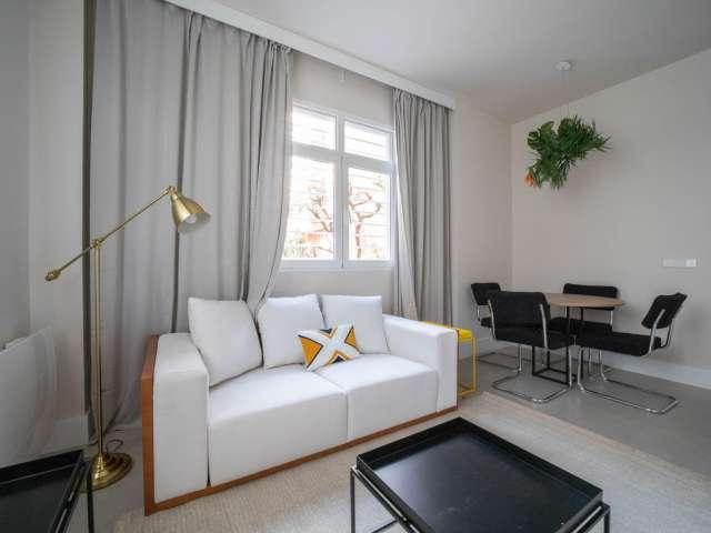 Studio apartment for rent in Hortaleza, Madrid