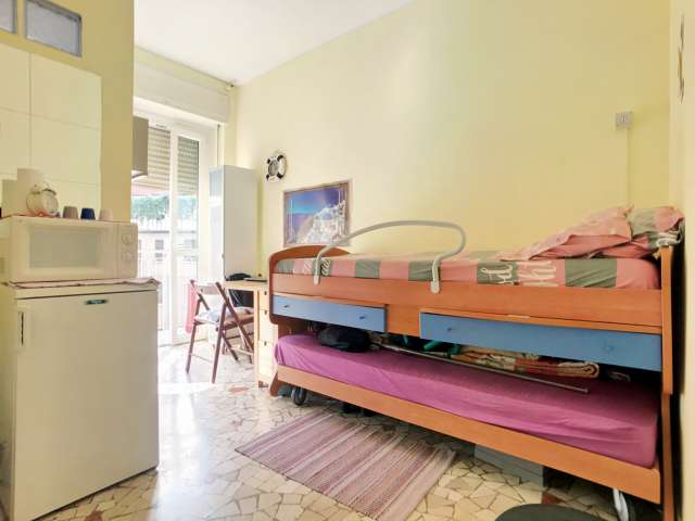 Studio apartment with balcony for rent in Città Studi, Milan