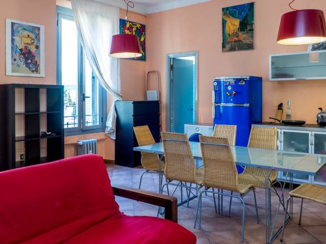 Stylish studio apartment for rent in Ticinese, Milan