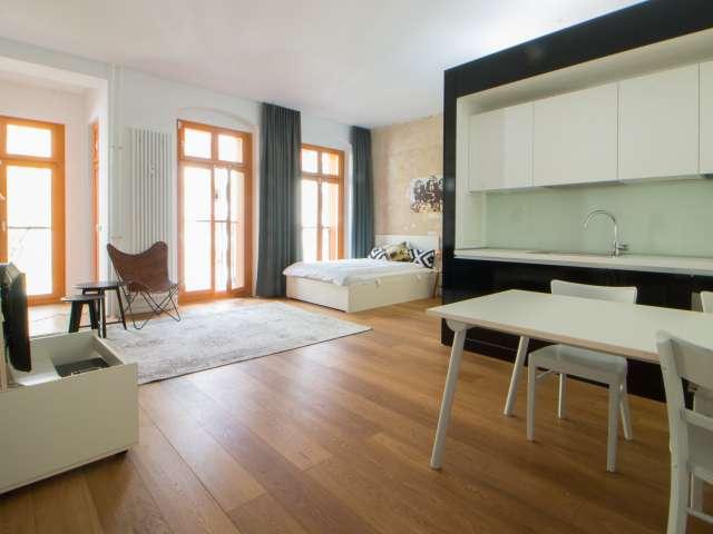Stilvolle 1-Zimmer-Wohnung zu vermieten in Friedrichshain, Berlin