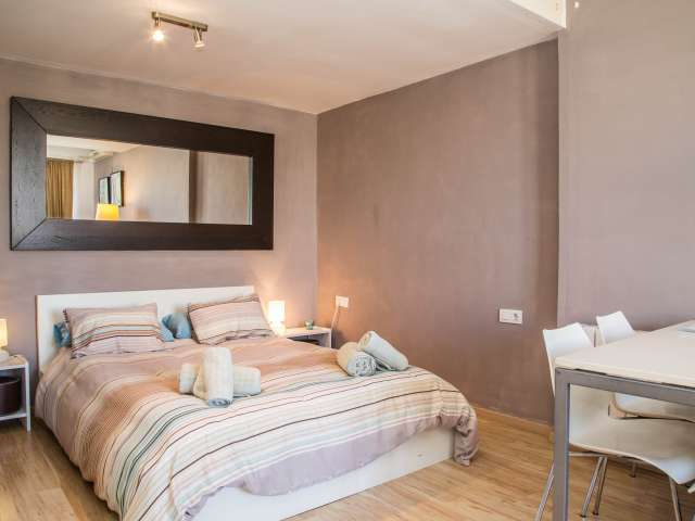 Comfortable rented apartment in Eixample, Barcelona