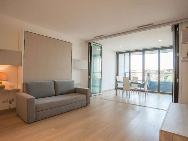 Monolocale d'avanguardia in affitto a Torrino, Roma