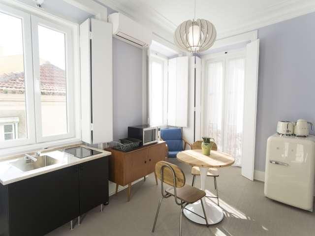 Modern 1-bedroom apartment for rent in Arroios, Lisbon