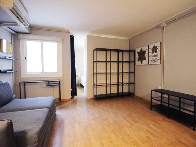 Furnishe studio apartment for rent in Sant Andreu, Barcelona