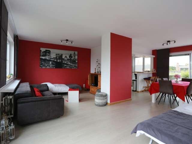 Grand appartement de 2 chambres à louer à Heembeek, Bruxelles