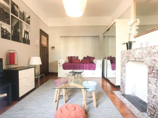 1-Zimmer-Wohnung zur Miete in Schaerbeek, Brüssel