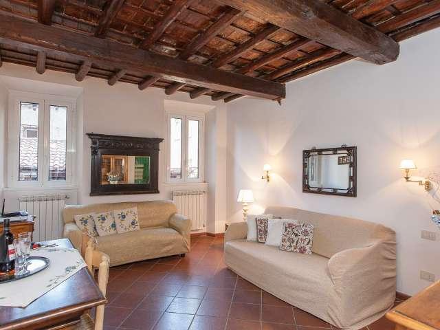 Studio apartment for rent in Trastevere, Rome