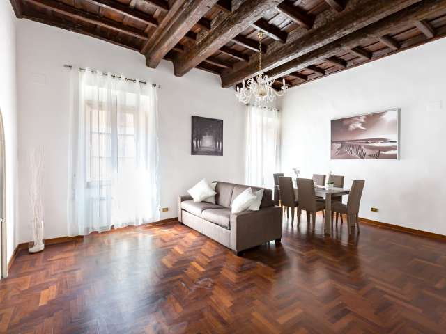 Elegante appartamento con 1 camera da letto in affitto nel centro storico