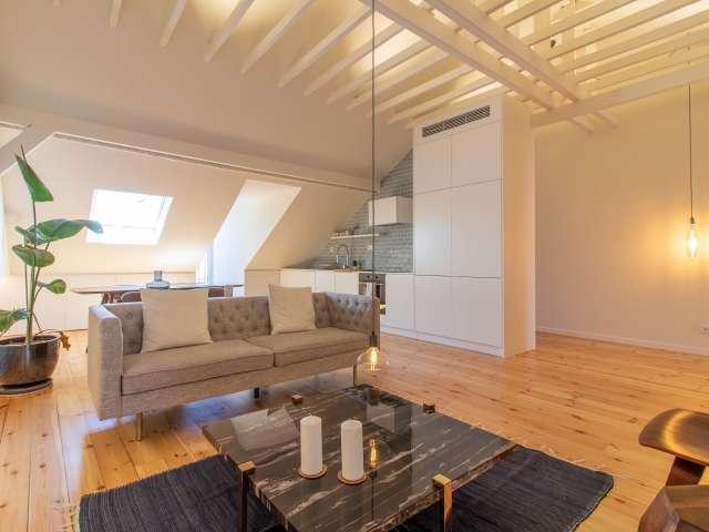 Stunning studio apartment for rent in Arroios, Lisboa