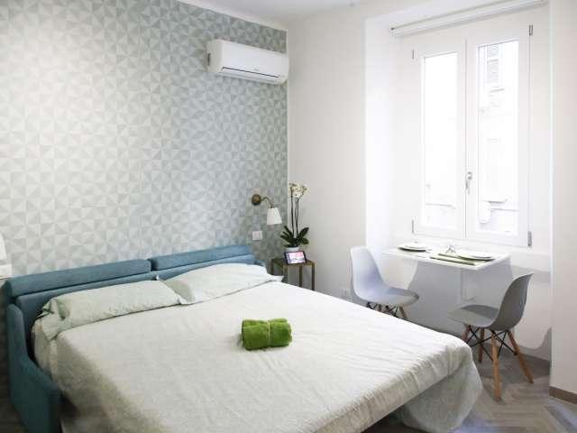 Studio apartment for rent in Bocconi, Milan