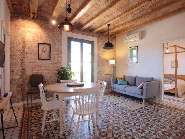 Chic 2-Zimmer-Wohnung zu vermieten in Barri Gòtic, Barcelona