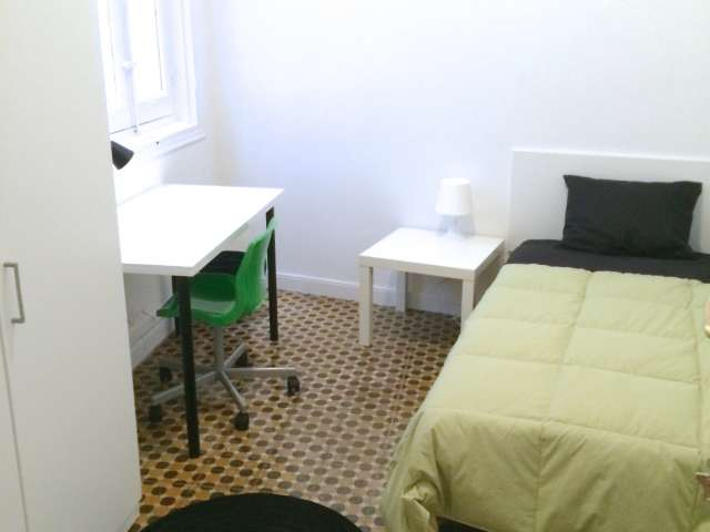 Relaxing room in shared apartment in Puerta del Sol, Madrid