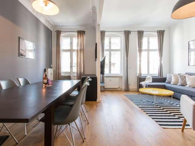 Classy 3-bedroom apartment for rent in Moabit, Berlin