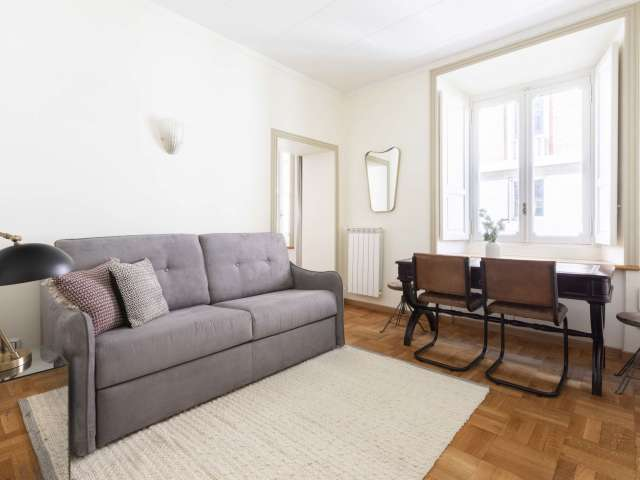Appartamento con 2 camere da letto in affitto a Roma