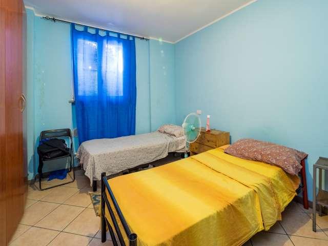 Mehrbettzimmer, 3-Zimmer-Wohnung, Sesto San Giovanni, Mailand