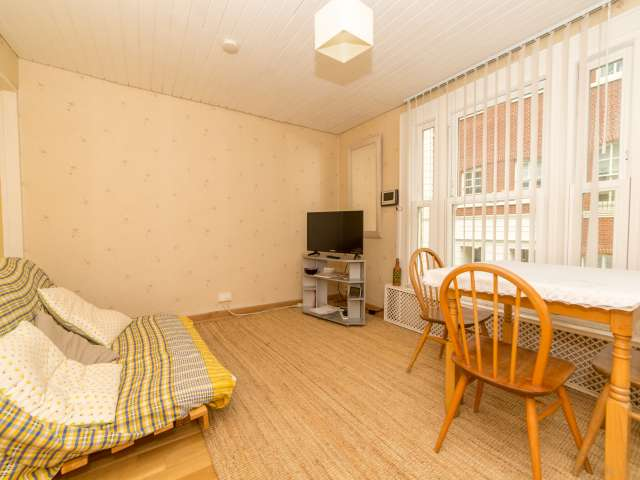 Neat 1-bedroom apartment to rent in Hampstead, London